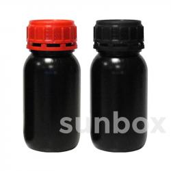 Botella homologada UN 250ml NEGRA