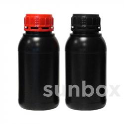 Botella homologada UN 500ml NEGRA
