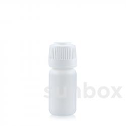Botella 10ml blanca PE
