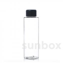 Botella TUBE 100ml PET Transparente