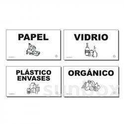 Etiquetas para recogida selectiva