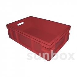 Caja NE apilable (60x40x17cm) 35L ROJA