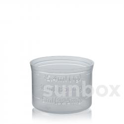 Vaso medidor 15ml Natural para tapón rosca